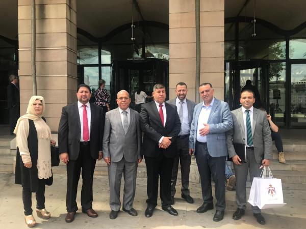 لجنة فلسطين بالبرلمان الأردني تبحث مع أعضاء مجلس العموم البريطاني القضية الفلسطينية