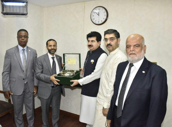 ضمن وفد رابطة برلمانيون لأجل القدس.. النائب أبو مسامح يزور البرلمان الباكستاني