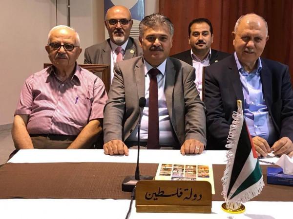 فلسطين رئيساً لاتحاد المهندسين الزراعيين العرب