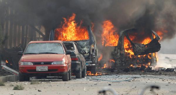 قتلى وجرحى في انفجار سيارة مفخخة بمدينة بنغازي الليبية