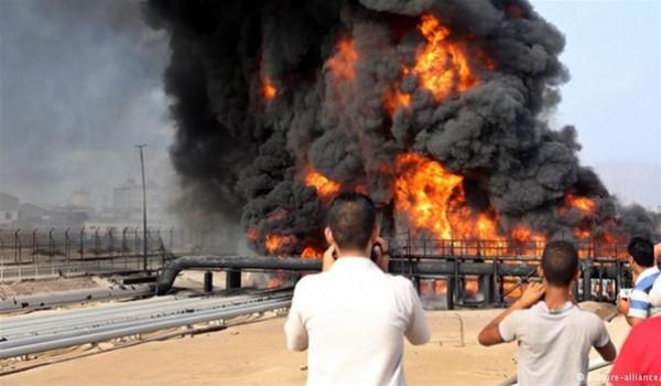 إخماد حريق في أكبر مصافي النفط في العراق