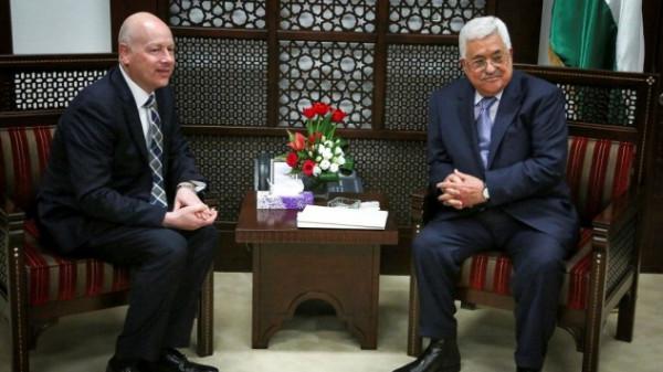 غرينبلات: لدي ثقة بالرئيس عباس ولا نسعى لتغيير القيادة الفلسطينية