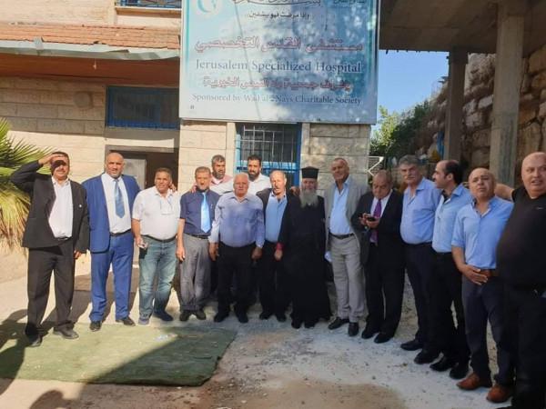 جمعية وادي النيص تكرم الوزير قطامي لدوره بدعم إقامة مستشفى القدس التخصصي