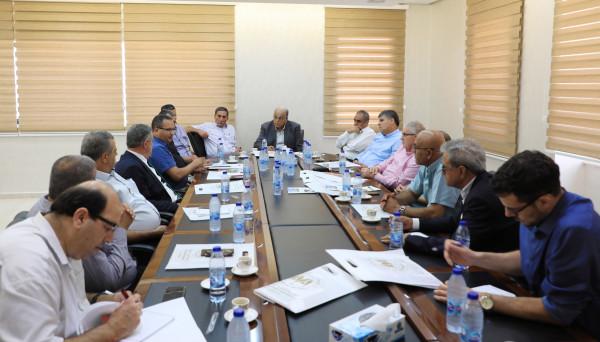 الجامعة العربية الامريكية تستقبل وفداً من رؤساء وممثلي المجالس المحلية والقطرية بالداخل