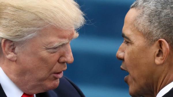 التسريبات البريطانية تكشف علاقة أوباما بانسحاب ترامب من الاتفاق النووي الإيراني