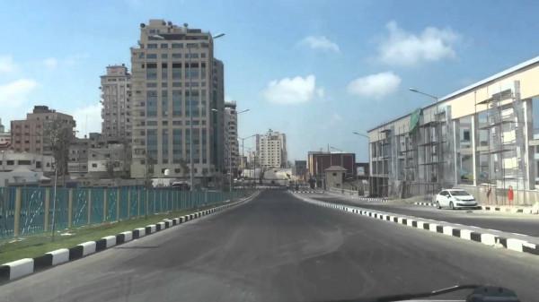 """بسبب السرعة.. قرار """"مهم"""" من شرطة المرور بغزة بخصوص شارع الرشيد"""