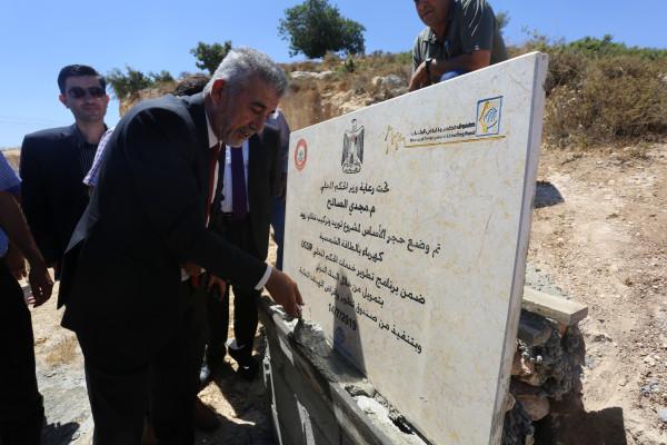 وزير الحكم المحلي يفتتح عددا من المشاريع التطويرية في محافظة سلفيت
