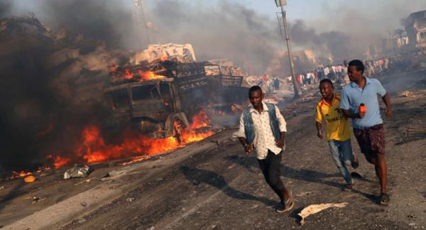 خمس إصابات في تفجير انتحاري وسط الصومال