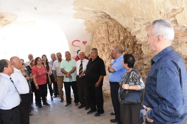 جمعية الزبابدة تنظم رحلة استكشافية لنادي المسنين والمتقاعدين إلى محافظة سلفيت