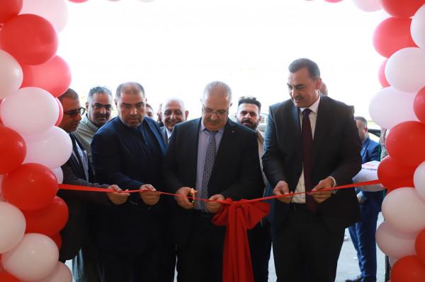 إفتتاح الوكالة العالمية EP Equipment  في السوق الفلسطيني
