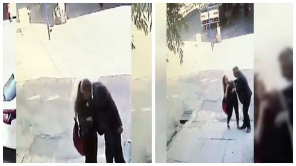 مسن يهتك عرض طفلة في الشارع العام