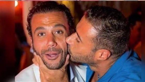 """""""تطير فيها رقاب"""".. أحمد السعدني يعلق على تقبيل نجله لابنة محمد إمام"""