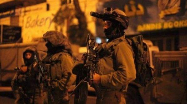 الاحتلال يعتقل 9 مواطنين من أنحاء متفرقة بالضفة