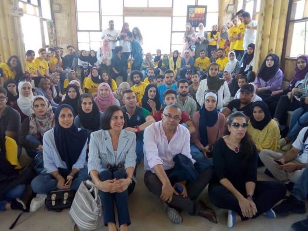 الوزير أبو سيف: الشباب الفلسطيني وحدهم من يحدث التغيير