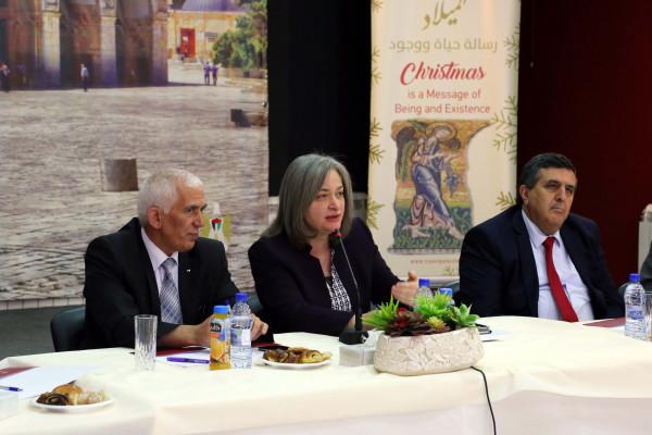 انعقاد جلسة العمل لاعتماد الخطة الاستراتيجية لتطوير السياحة في بيت لحم