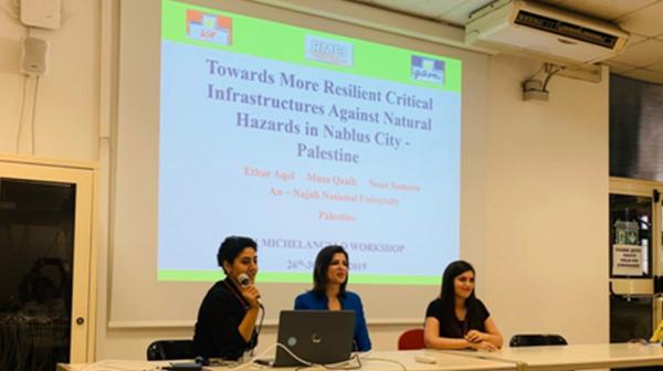 جامعة النجاح الوطنية تشارك في ورشة العمل العالمية مايكل أنجلو في روما
