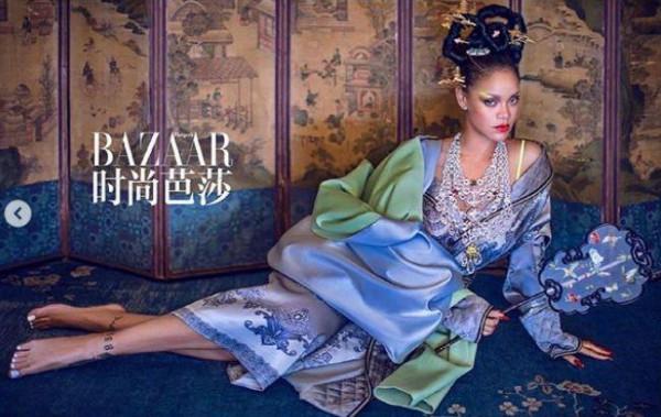 """ريانا تثير الجدل على مواقع التواصل بسبب إطلالاتها """"الصينية"""""""