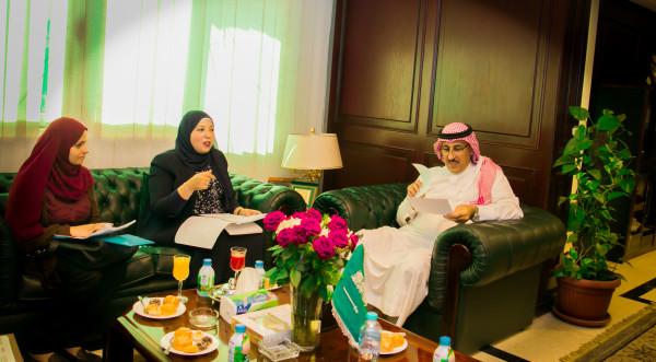 الملحق الثقافي السعودي يلتقي رئيس شؤون الوافدين