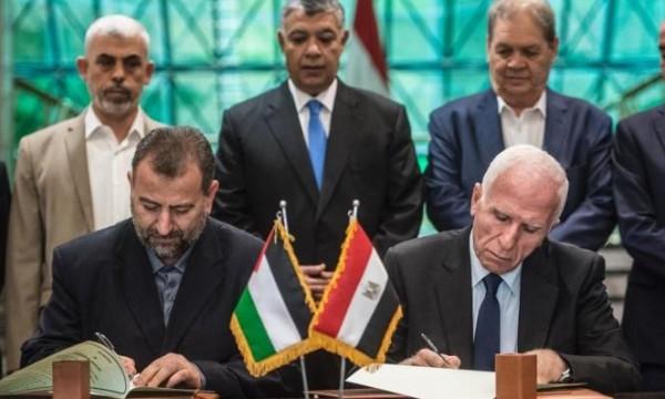 """بـ """"تكتم وسرية"""".. صحيفة: مصر تطرح رؤية جديدة للمصالحة الفلسطينية"""