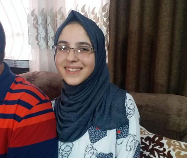 نتيجة بحث الصور عن الطالبة الاء عبد العاطي غزة