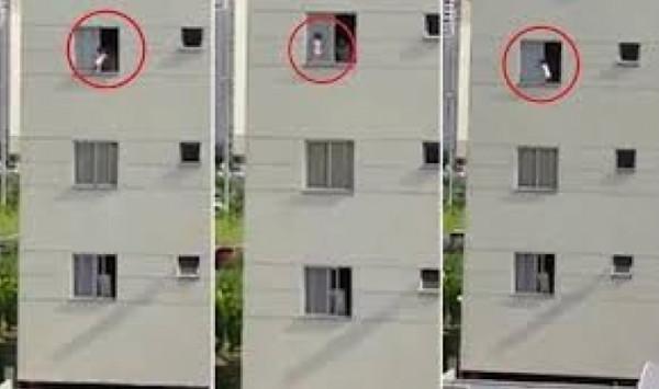 زوجان يسقطان من الطابق التاسع أثناء العلاقة الحميمةَ