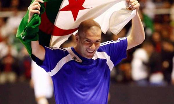 هل يحضر زيدان نهائي كأس الأمم ليشجع الجزائر؟