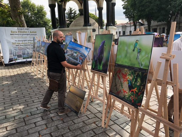 """افتتاح معرض صور بعنوان """"احكيلي عن فلسطين"""" في مدينة اسطنبول"""