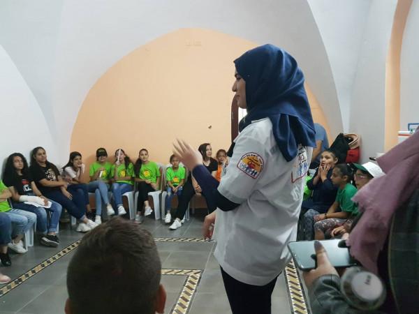 المركز النسوي الثوري سلوان يقيم لقاء اسعاف اولي ضمن مخيمه الصيفي