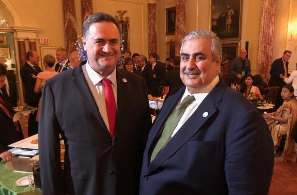 اجتماع علني بين وزير خارجية البحرين ونظيره الإسرائيلي