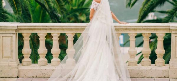 التنورة الطبقات الخيار الأفضل للعروس الرفيعة