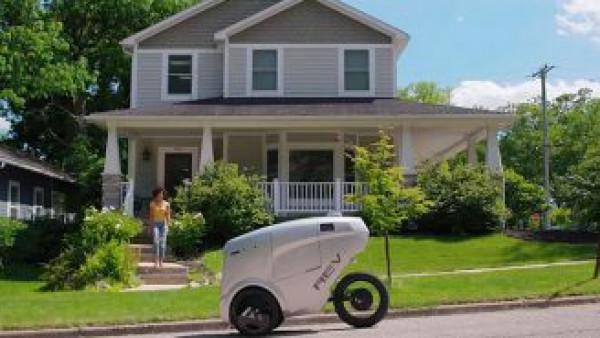 ابتكار دراجة روبوتية لتوصيل الطلبات للمنازل