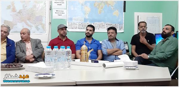 المجلس الفلسطيني المركزي- ألمانيا وفتح يقيمان بيت عزاء للواء كايد في برلين