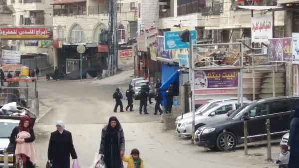 قوات الاحتلال تقتحم مخيم شعفاط وسط القدس