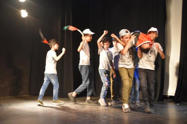 مركز يافا الثقافي يقيم حفل ختامي لمخيم ياسر عرفات الصيفي لعام 2019
