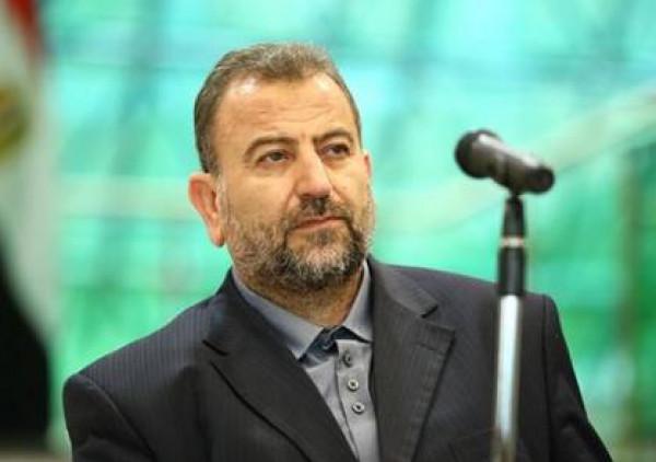 وفد من حركة حماس برئاسة العاروري يصل طهران