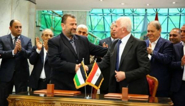 قيادي بحماس: الفيتو الأمريكي لم يُرفع لحد اللحظة عن المصالحة الفلسطينية