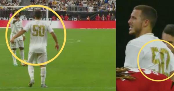 ما سر الرقم 50 الذي ارتداه هازارد مع ريال مدريد؟