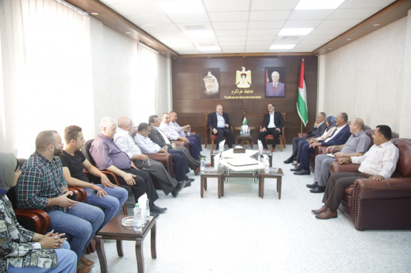 وزير العمل يزور محافظة طولكرم ويبحث عدداً من القضايا المشتركة