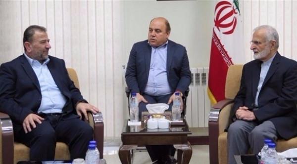 الرشق يُوضّح هدف زيارة وفد حماس برئاسة العاروري إلى إيران