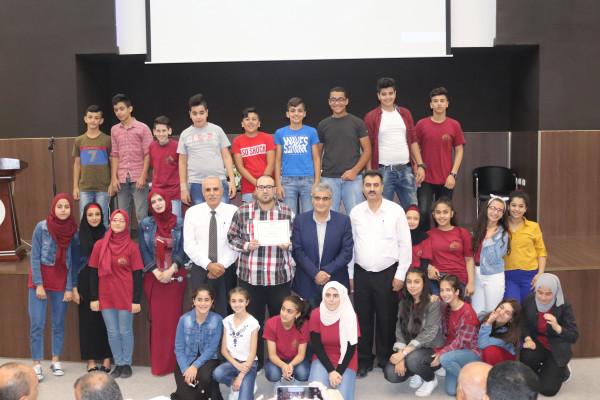تربية بيت لحم وجامعة فلسطين الأهلية تختتمان مشروع ستيم