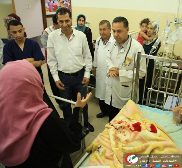 الطفل غسان وإنقاذه في اللحظات الأخيرة بمستشفى العودة