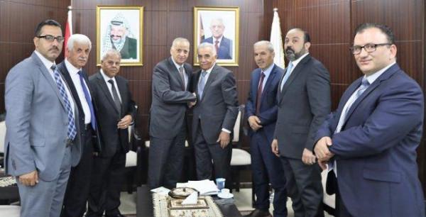 المستشار عيسى أبو شرار يتسلم مهامه رئيساً للمحكمة العليا ولمجلس القضاء الانتقالي