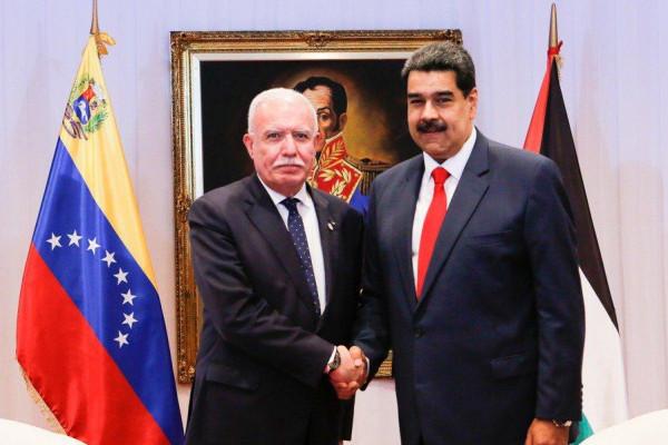 الرئيس الفنزويلي يؤكد على موقف بلاده الملتزم تجاه القضية الفلسطينية