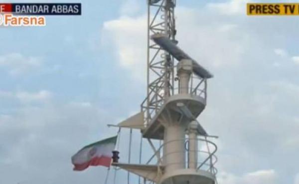 شاهد: إيران ترفع علمها على الناقلة البريطانية المحتجزة