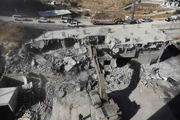 الحمد الله: هدم الاحتلال لوادي الحمص نكبة جديدة وسابقة خطيرة