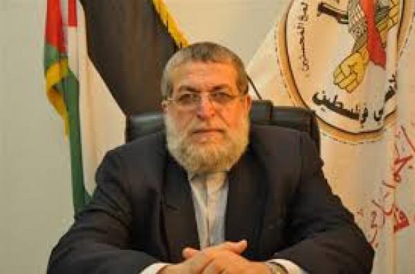 عزام: ما يحصل بالقدس نتيجة هرولة العرب نحو إسرائيل وفصائل المقاومة لا تُلام