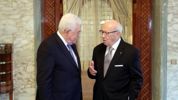 بالتفاصيل.. رسالة خطية من الرئيس عباس لنظيره التونسي