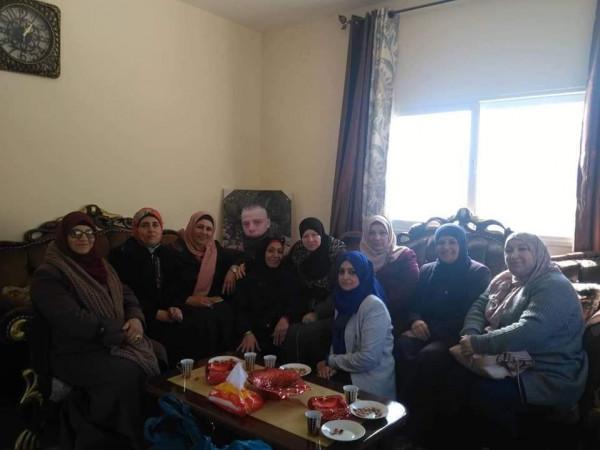"""حركة """"فتح"""" تكّرم المتفوقين بالثانوية العامة في سلفيت"""