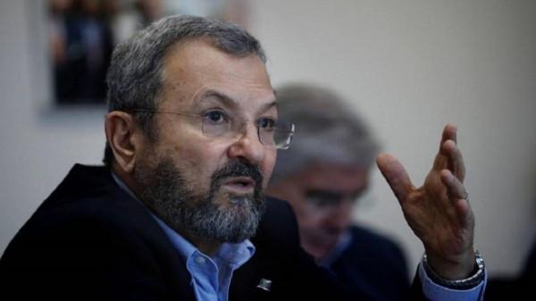 باراك يعتذر عن مقتل 13 فلسطينياً بالأقصى عام 2000
