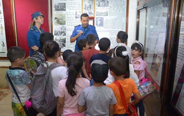 """تلاميذ المقاطعة الإدارية لبراقي في زيارة إلى المتحف المركزي للشرطة """"العقيد لطفي"""""""